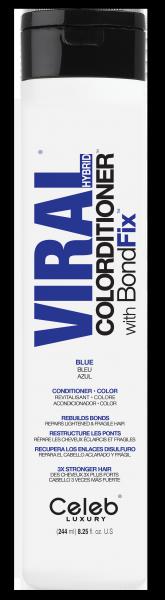 Celeb LUXURY Viral COLORDITIONER Vivid Deep Blue, 244ml