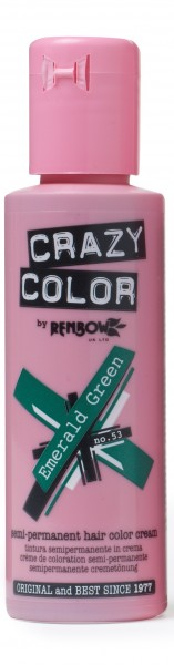 CRAZY COLOR 53 Emerald Green, 100ml