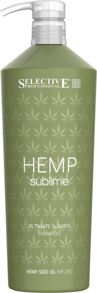 SELECTIVE Hemp Sublime Shampoo, 1L