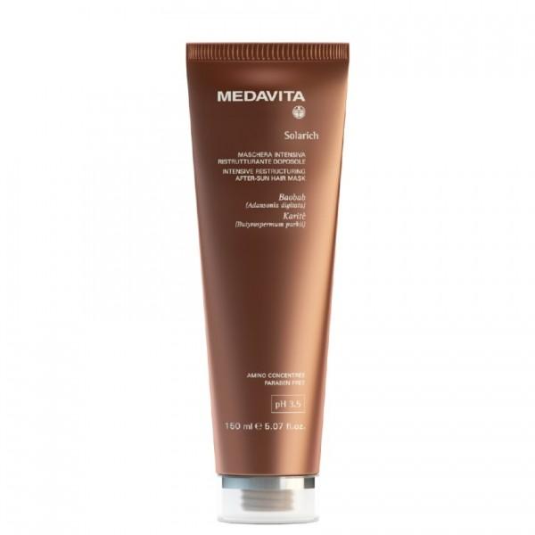 MEDAVITA SOLARICH Intensive Restructuring After-Sun Hair Mask, 150ml