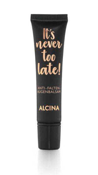 ALCINA It's never too late Anti-Falten-Augenbalsam, 15ml