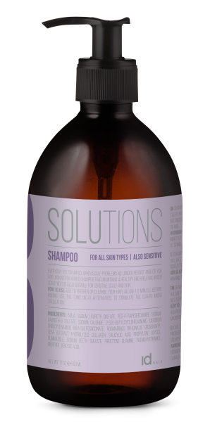 IDHAIR Solutions mildes Shampoo No.3, 500ml