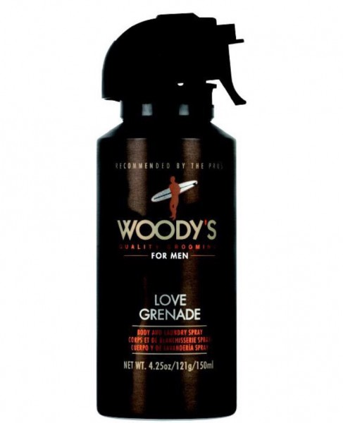Friseur Produkte24 Woody´s Body and Laundry Deospray