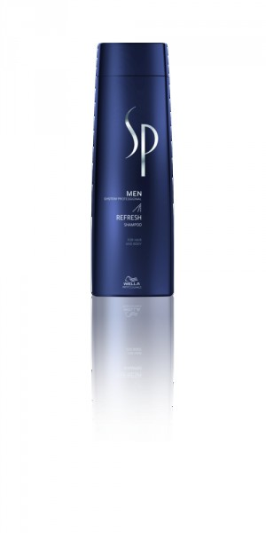 WELLA SP MEN Refresh Shampoo, 250ml