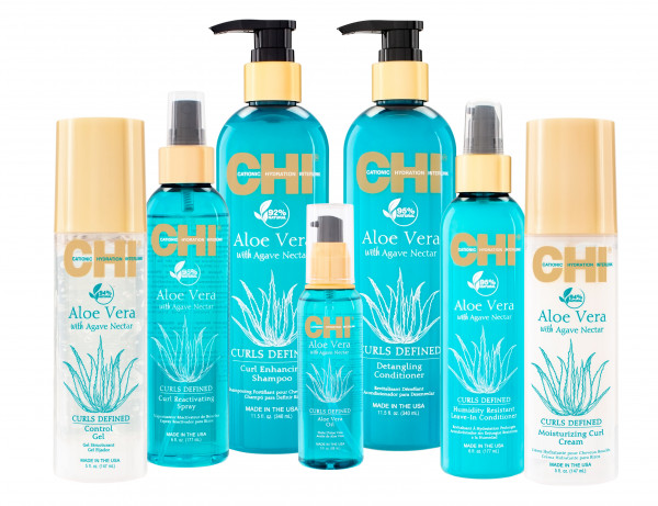 CHI Aloe Vera Humidity Resistant Leave-In Conditioner, 177ml