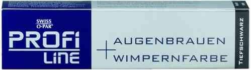 PROFILINE Augenbrauen + Wimpernfarbe tiefschwarz, 15 ml