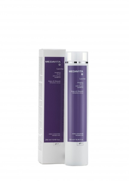 MEDAVITA Luxviva Anti-Yellow Silver Shampoo, 250ml