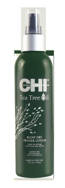CHI Tea Tree Oil Blow Dry Primer Lotion, 177 ml