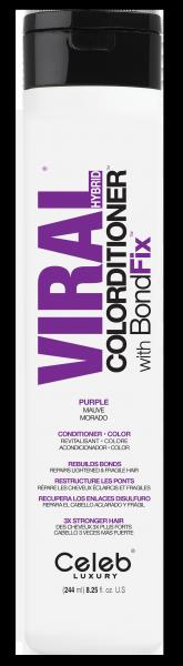 Celeb LUXURY Viral COLORDITIONER Vivid Bright Purple, 244ml