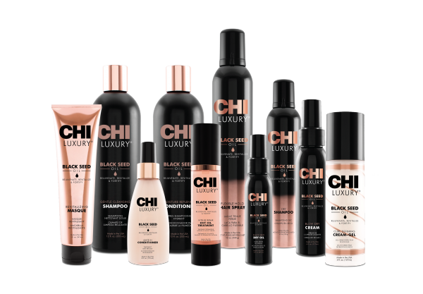 CHI Luxury Black Seed Blow Dry Cream, 177ml