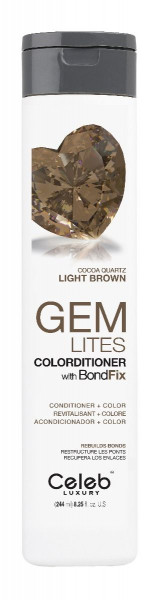 Celeb LUXURY GEM LITES Colorditioner Cocoa Quartz, 244ml
