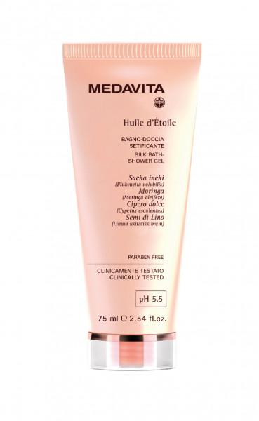 MEDAVITA Huile d´Étoile Silk Bath-Shower Gel, 75ml