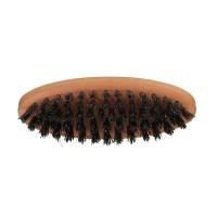 Vorschau: Friseur Produkte24 - 1o1 Barbers Bartbürste Elipse klein, Wildschweinborsten 5-reihig