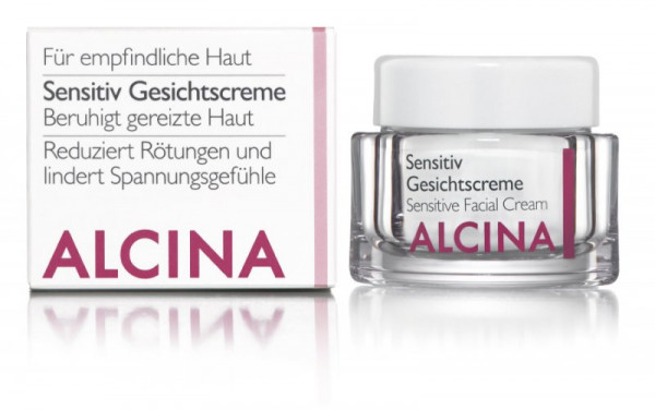 ALCINA Sensitiv Gesichtscreme, 50ml