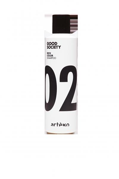 ARTÈGO Good Society Rich Color Shampoo 02, 250ml