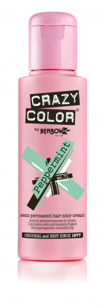 CRAZY COLOR 71 Peppermint, 100ml