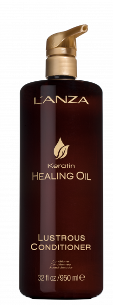 LANZA Keratin Healing Oil Lustrous Conditioner, 950ml