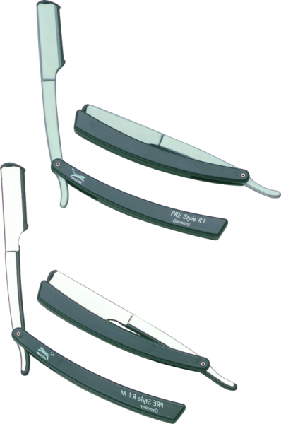 JAGUAR Pre Style Rasiermesser R1 inkl. 10 Ersatzklingen