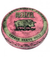 REUZEL Pomade Pink Grease Heavy Hold, 35g