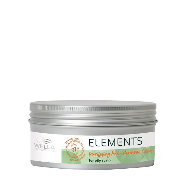WELLA Elements Purifying Pre-Shampoo Clay, 225ml