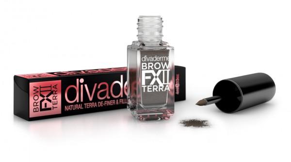 DIVADERME BrowFXII Terra De-Finer&Filler Cappuccino, 4 ml