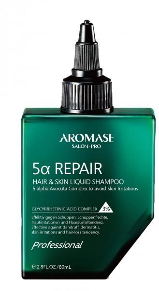 AROMASE 5 alpha Repair Liquid Shampoo, 80ml