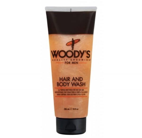 WOODY´S Hair & Body Wash, 296ml
