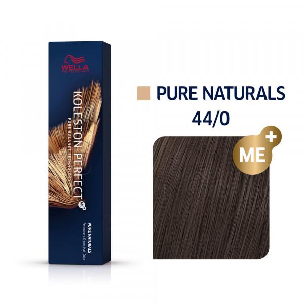 WELLA KP ME+ Pure Naturals 44/0 mittelbraun intensiv natur, 60ml
