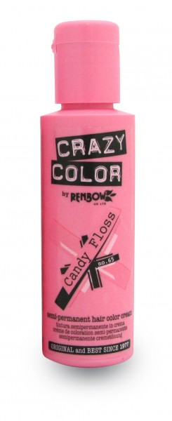 CRAZY COLOR 65 Candy Floss, 100ml