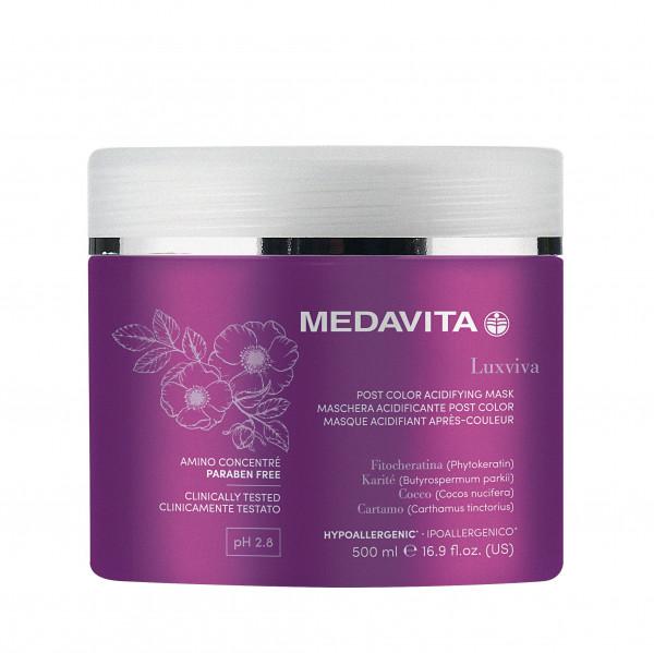 MEDAVITA Luxviva Post Color Acidifying Mask, 500ml
