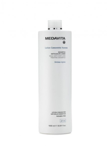 MEDAVITA Lotion Concentrée Homme Male Anti-Hair Loss Treating Shampoo, 1L