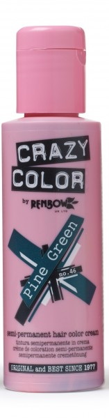 CRAZY COLOR 46 Pine Green, 100ml