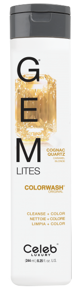 Celeb LUXURY GEM LITES Colorwash Cognac Quartz, 244ml
