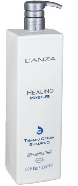 LANZA Healing Moisture Tamanu Cream Shampoo, 1000ml