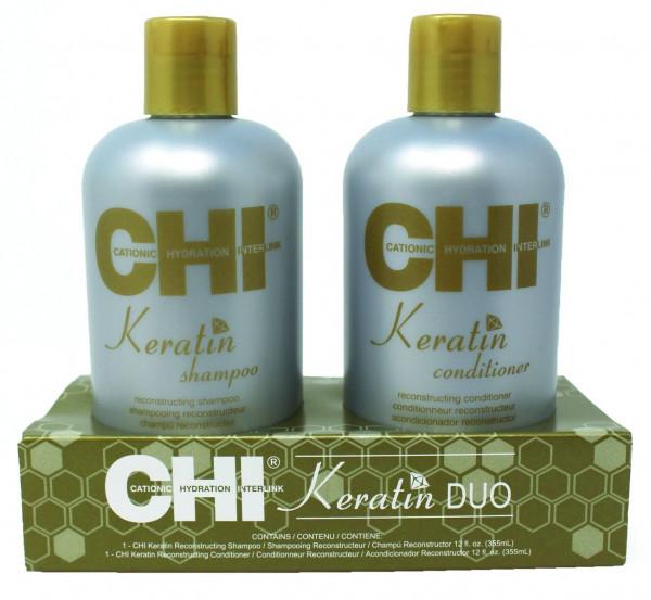 CHI Keratin Gold Treatment Kit, 2 x 355ml