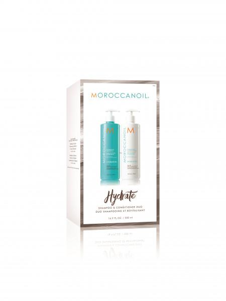 MOROCCANOIL Shampoo & Conditioner Bundle Hydration, 2 x 500ml