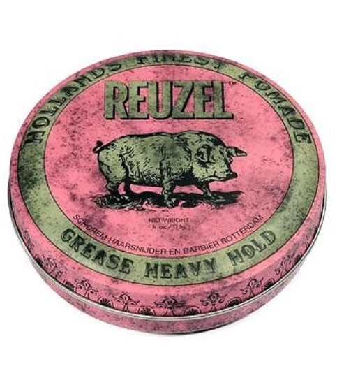 REUZEL Pomade Pink Grease Heavy Hold, 113g