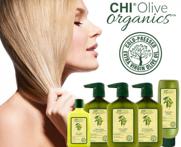 CHI Olive Organics Hair & Body Shampoo, 710ml