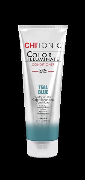 CHI IONIC Color Illuminate Conditioner Teal Blue, 251ml