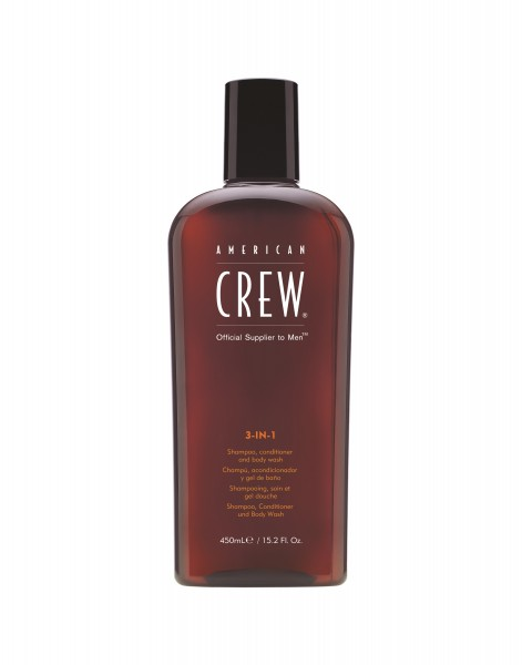 AMERICAN CREW 3-IN-1 Hair and Bodywash, 450ml