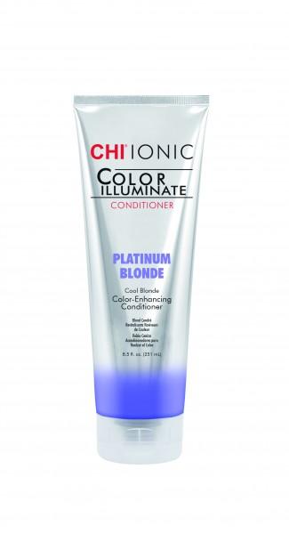 CHI IONIC Color Illuminate Conditioner Platinum Blonde, 251ml