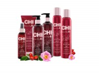 Vorschau: CHI Rose Hip Oil Protecting Shampoo, 15ml