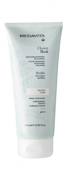 MEDAVITA Choice color clear hair mask, 200ml
