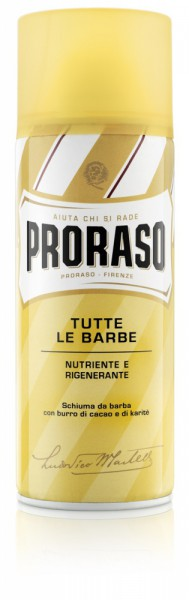 Friseur Produkte24 , Proraso Rasierschaum Nutriente Burro 50ml