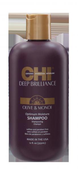 CHI Deep Brillance Optimum Moisture Shampoo, 355ml