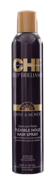 CHI Deep Brillance Optimum Finish Flexible Hold Hairspray, 77ml