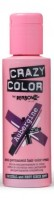 CRAZY COLOR 50 Aubergine, Semipermanente Creme Haarfarbe, 100ml