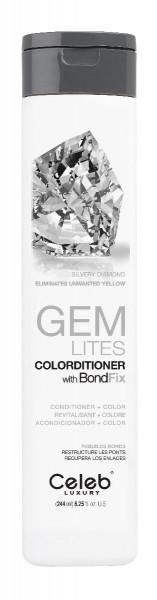 Celeb LUXURY GEM LITES Colorditioner Silvery Diamond, 244ml