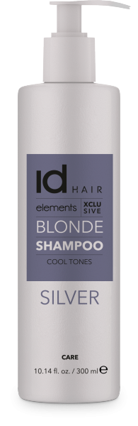idHAIR Elements Xclusive Blond Silver Shampoo, 1L