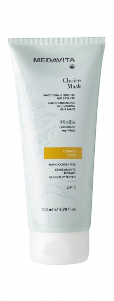 MEDAVITA Choice Color Hair Mask gold, 200ml